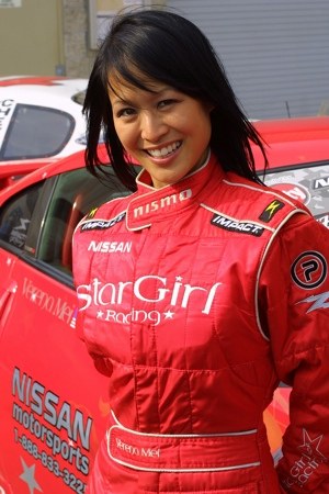 Verena Mei of StarGirl racing.  Photo by Anthony J via flickr.